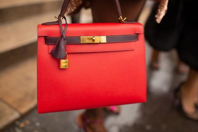 Red Hermes Bag