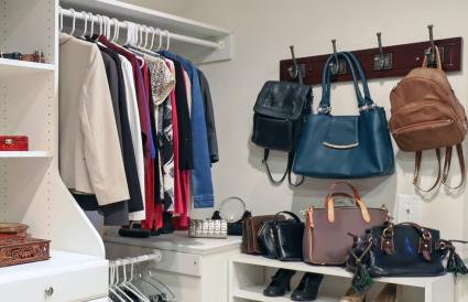 A woman closet