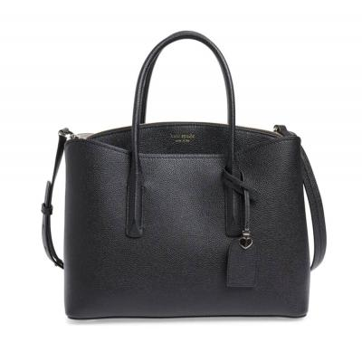 Large Margaux Leather Satchel