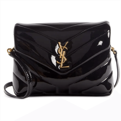 Saint Laurent Toy Lou Patent Leather Crossbody Bag