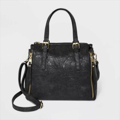 Bueno Zip Closure Satchel Handbag