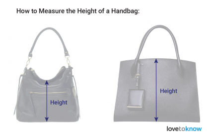 Measure the Height of a Handbag