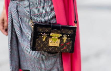 Petite Malle purse by Louis Vuitton