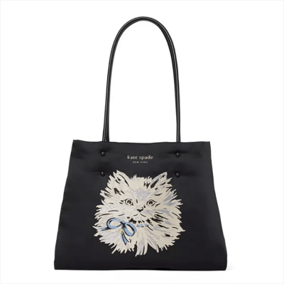 Kate Spade Everything Puffy Cat Large Tote