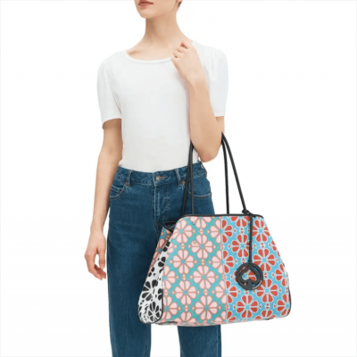 Everything Spade Flower Large Tote