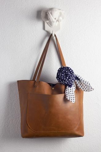 Purse With Rose Wrap Scarf