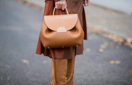 Polène bag in brown