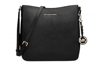 Michael Kors Jet Set Large Saffiano Leather Messenger Bag