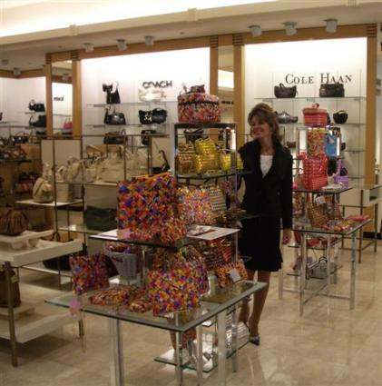 Elaine Cohen of Sweetipurse at Bloomingdale's