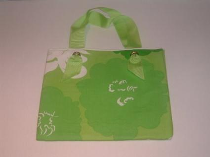 Lime-colored Kathi Bag from Ralphie Bags