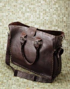 Brown Bhauji Bag from Blumera Handbags