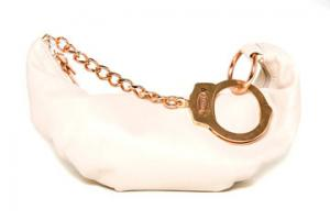 Champagne 'Barfly' Bag from Cuffz by Linz