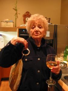 Linz' Step-Grandma with the 'Oh Bondage' Bag