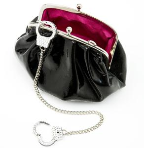 """Jailbait"" Bag in Black from Cuffz by Linz"