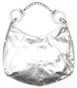 Cuffz by LInz Silver 'Oh Bondage' Handbag