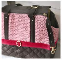 Bruiser's Cruiser Dog Tote by Schmancy Purses