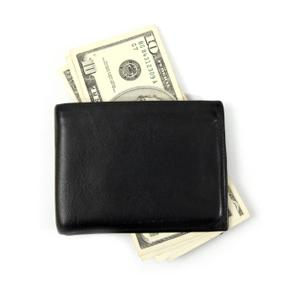 Image of a man's waterproof billfold