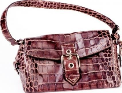 Vintage crocodile purse