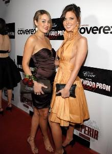 AudrinaPatridge and Lauren Conrad with Onna Ehrlich purses