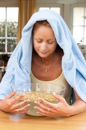 Steaming Herbs Recipe for Flu and Cold
