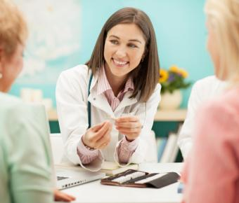 Naturopath and patients