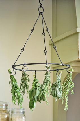 Gardner's Supply Herb Drying Rack