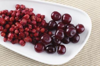 cherries and pits