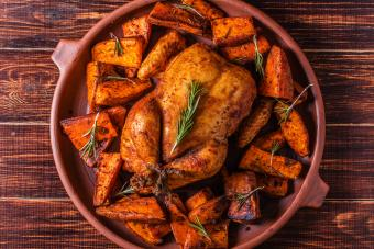 Homemade Paprika and Herb Chicken