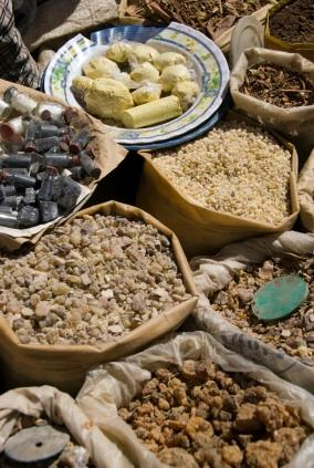 a variety of types of boswellia
