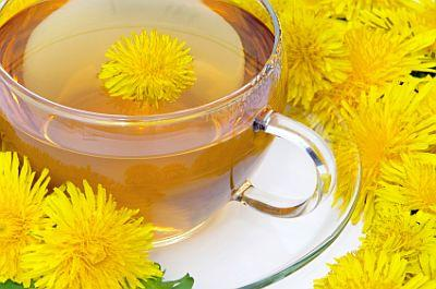 Dandelion Tea and Flowers