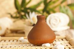 Clay pot diffuser