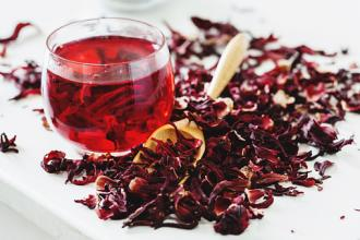 Image result for hibiscus tea