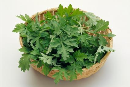basket of mugwort