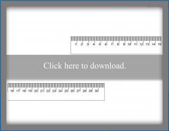 Centimeter Ruler