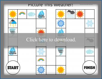 Picture This Weather board game