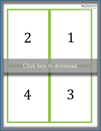 Multiplication Flash Card Answers