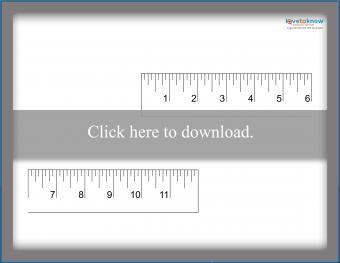 Two-Piece Twelve-Inch Ruler