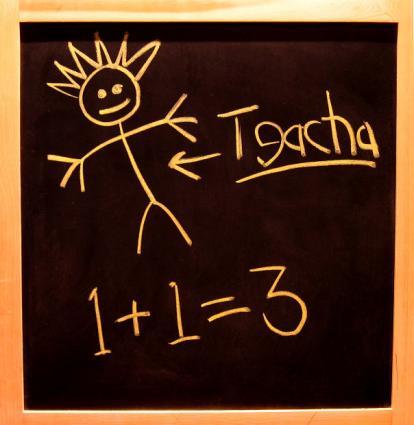 Chalkboards are good homeschool supplies