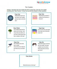 creation worksheet