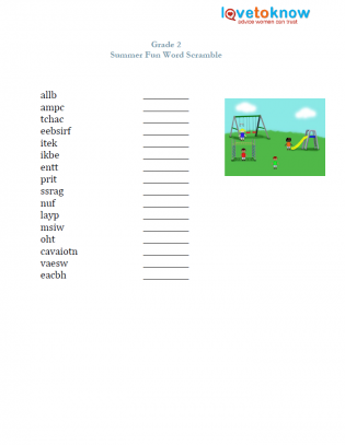 photograph relating to Grade 2 Spelling Words Printable known as Free of charge Spelling Worksheet LoveToKnow