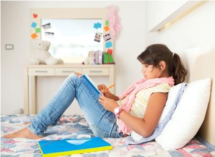 homeschooled teen