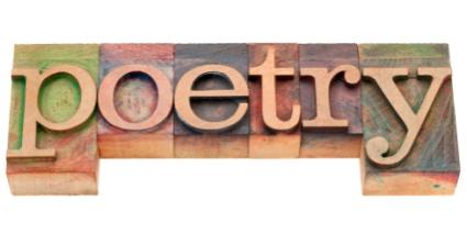poetry in block letters