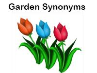 garden synonyms worksheet