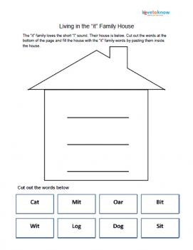 it family house worksheet