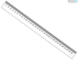 graphic regarding Printable Cm Ruler known as Cost-free Printable Rulers LoveToKnow