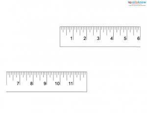 photograph relating to Free Printable Ruler referred to as Totally free Printable Rulers LoveToKnow