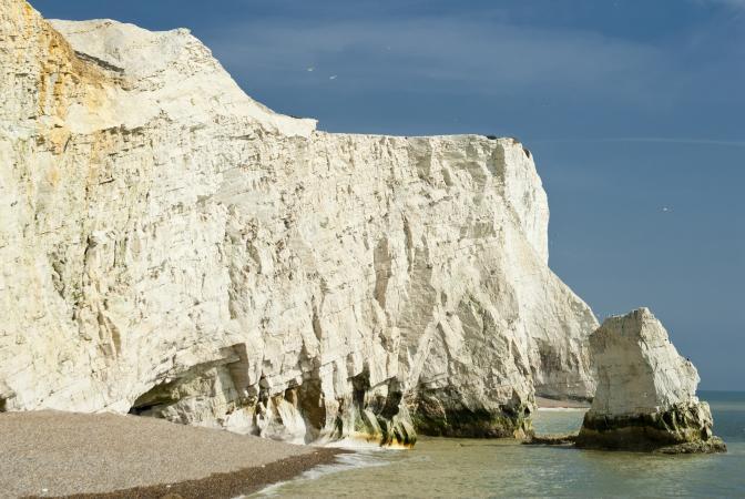 Seaford Chalk Cliffs