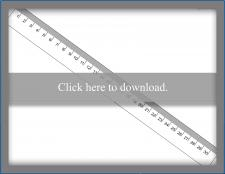 Full 30-Centimeter Ruler