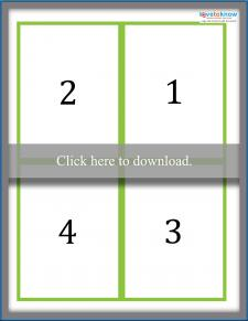 Multiplication Flash Card Answers