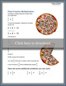 Fraction Multiplication Worksheet